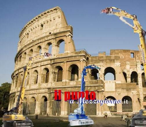 Il Colosseo in Europa ce l'abbiamo solo noi. Bisogna buttarlo giù