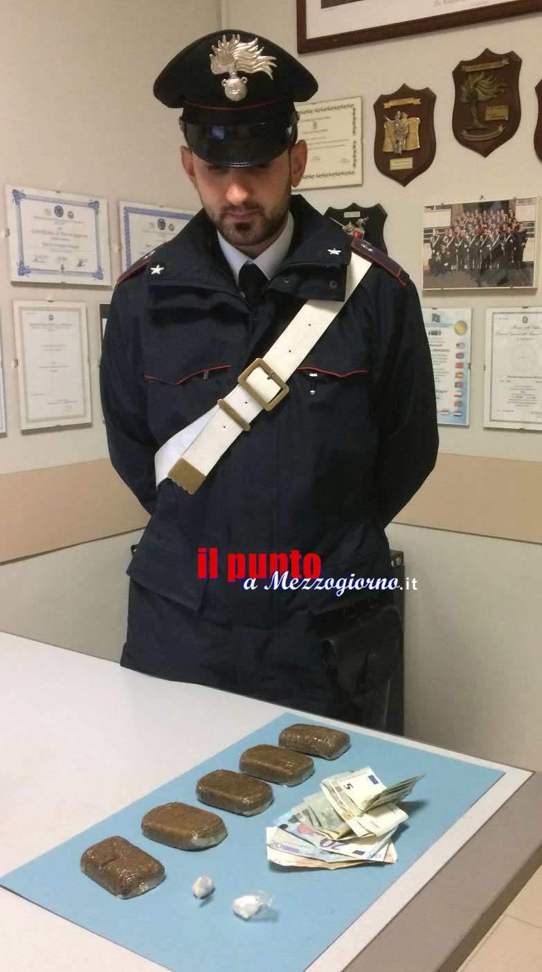 Roma – 35enne di Sora fermato in metro con oltre mezzo chilo di droga