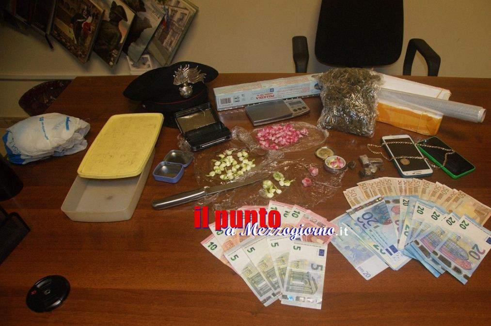 """""""Febbre da Cavallo"""" a Sora, arrestati per droga tre uomini e due donne"""