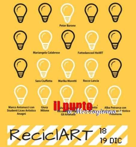 """Arte e Natura a Frosinone con """"RecilcArt"""""""
