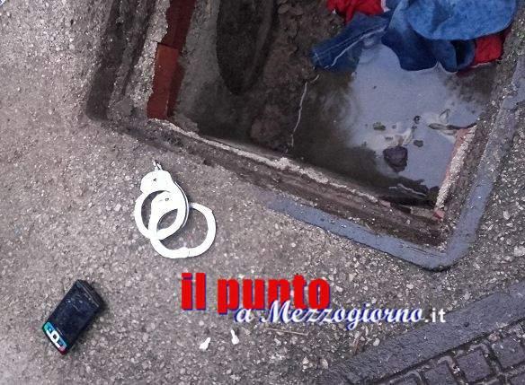 """A caccia di droga nelle fognature, centrale dello spaccio """"richiusa"""" dalla polizia a Frosinone"""