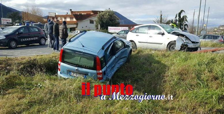 Incidente a San Giorgio, ferita madre e due figli piccoli