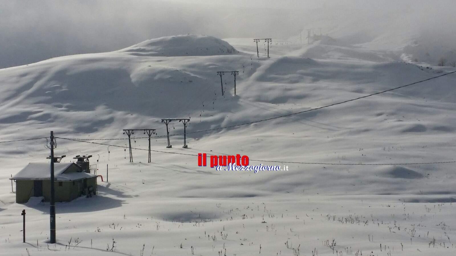 La Befana promette neve a Filettino e Campo Staffi, ben più degli attuali 20 centimetri