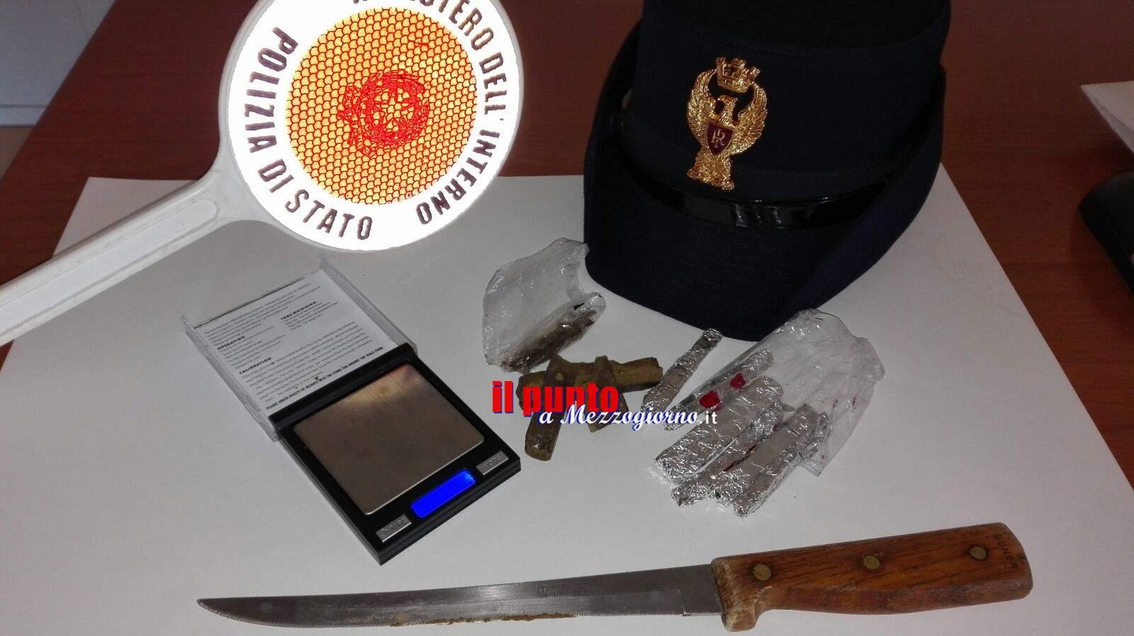 Cassino- Spaccio di droga, nei guai una casalinga ed un 37enne