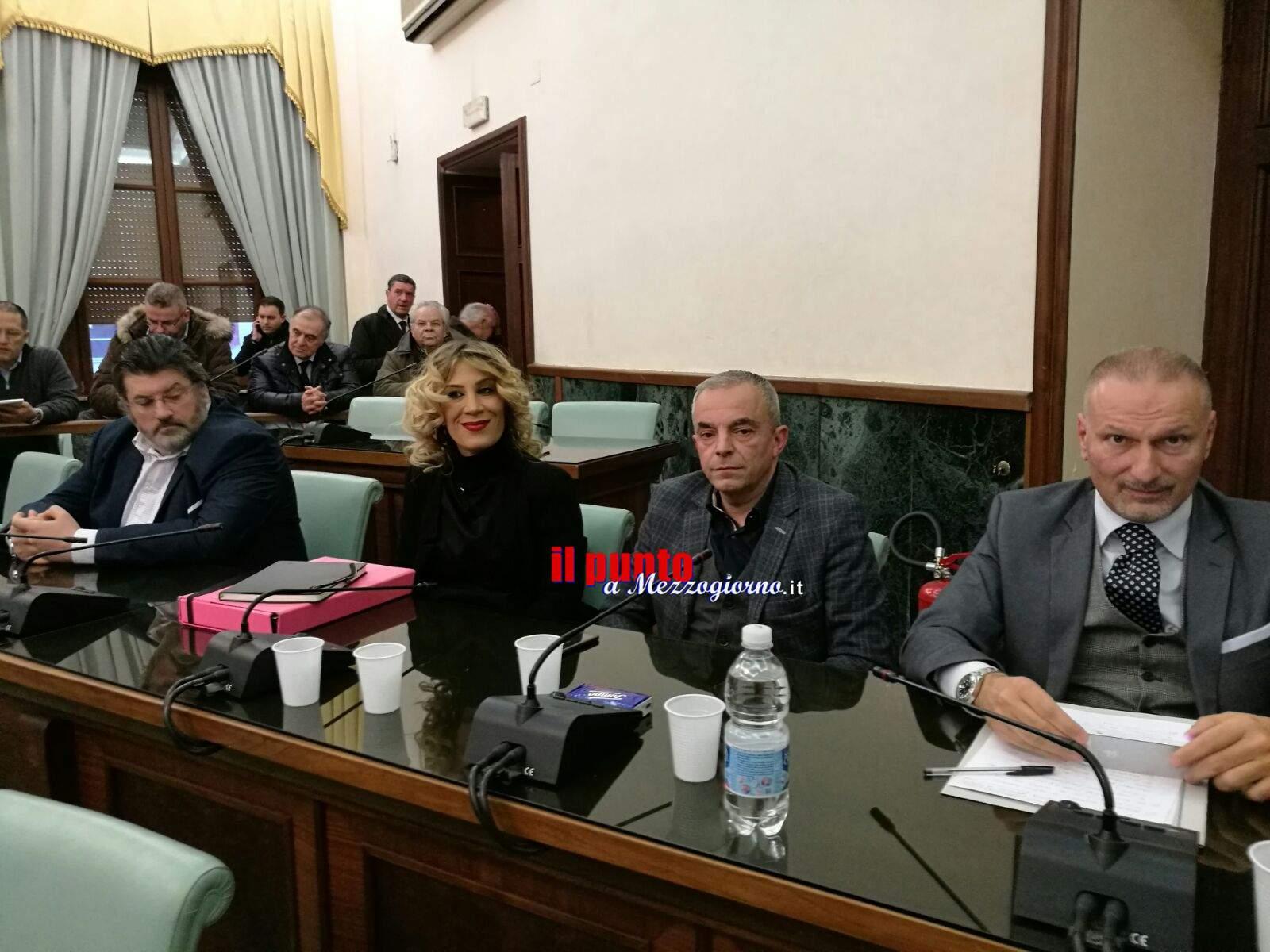 Provincia di Frosinone- Insediato il consiglio che affiancherà il presidente Pompeo