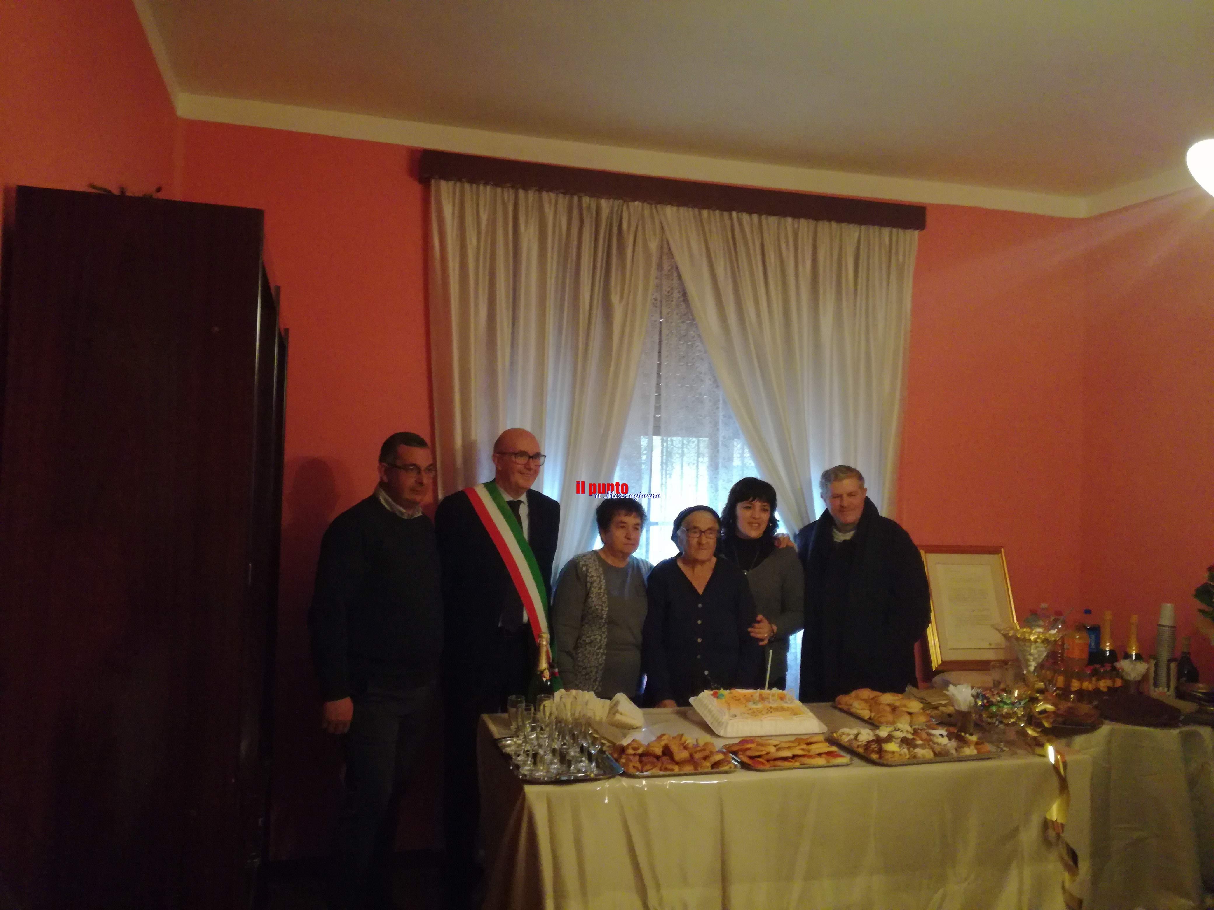 I cento anni di Nonna Anna Mastrangelo. Diventa sindaco per un giorno