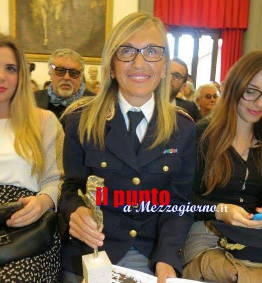 Cambio al vertice dell'Anticrimine di Frosinone, arriva il Primo Dirigente Agnese Cedrone