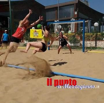 Pallamano: Il Cus Cassino-Gaeta si aggiudica il Campionato Beach Handball 2016