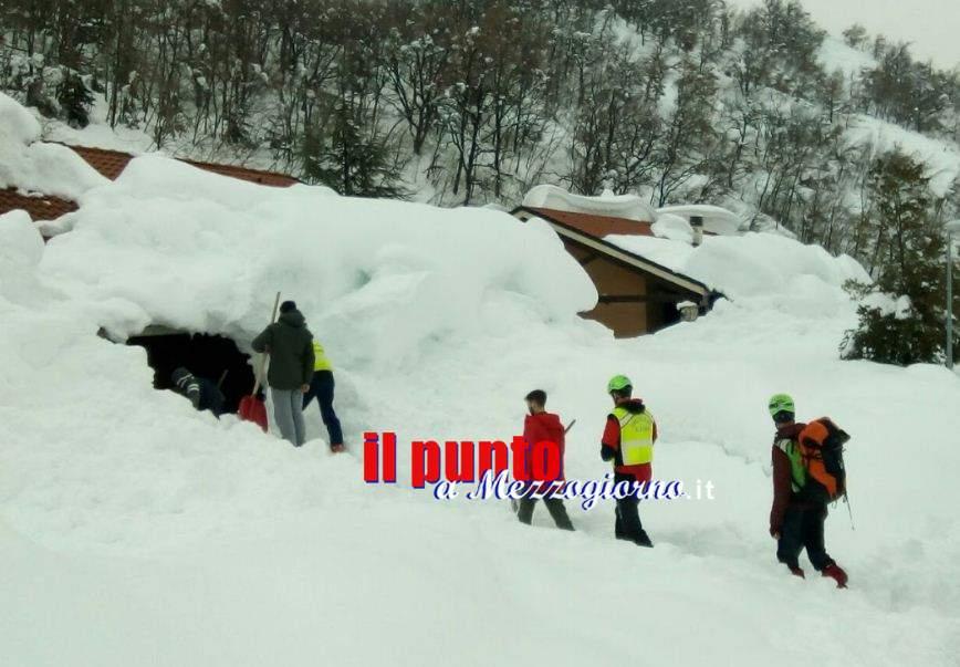 Il Soccorso Alpino del Lazio in prima linea nell'emergenza neve