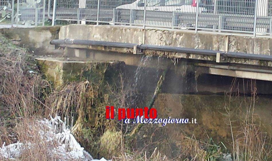 Ancora gelo a Cassino, tubi rotti e giochi di ghiaccio – VIDEO –