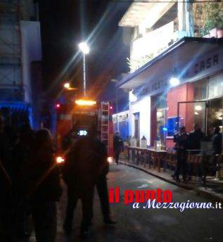 Fumo e fiamme dal ristorante a Cassino, ma era la canna fumaria
