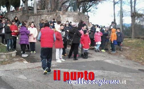 Cassino – Terremoto; Ordinanza del sindaco di chiusura delle scuole di ogni ordine e grado