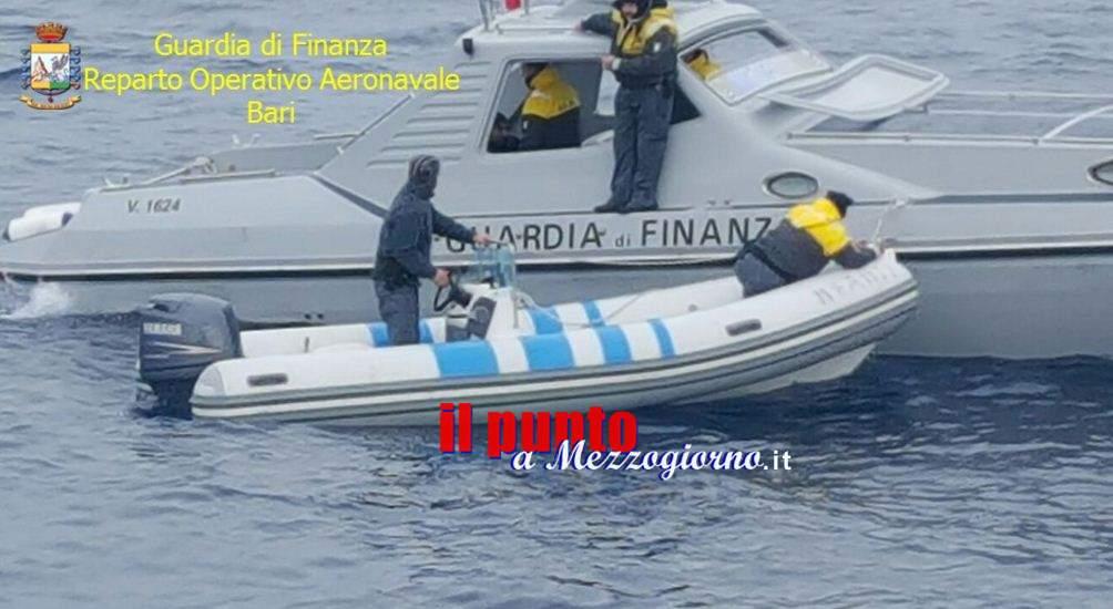 Mezza tonnellata di marijuana sulla rotta Adriatica, arrestati due trafficanti albanesi
