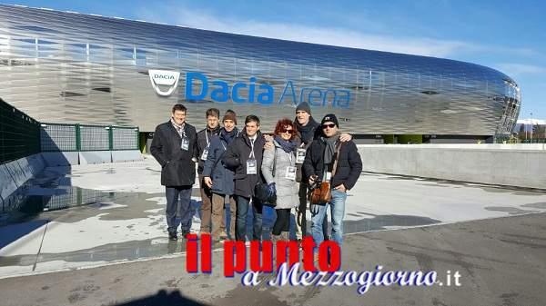 Squadra Stadio della Questura di Frosinone in trasferta al Dacia Arena di Udine