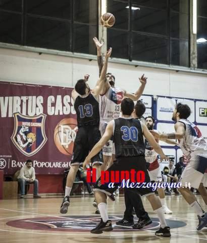 Basket: Virtus Cassino sesta vittoria consecutiva, 86 – 70, contro la Stella Azzurra