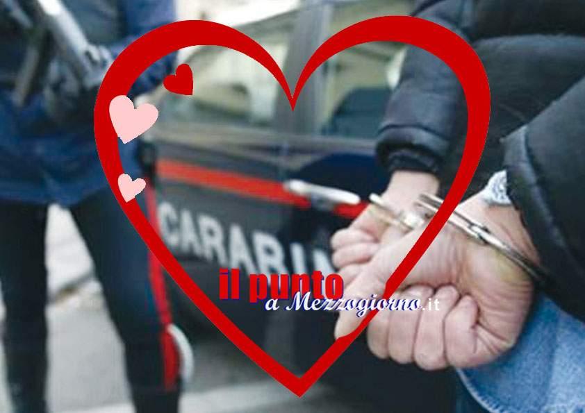 San Valentino in manette, rapinatore per amore arrestato dai carabinieri