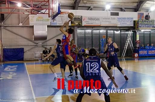 Basket C Gold: N.B.Sora 2000 sconfitta in trasferta dalla Virtus Oasi di Kufra Fondi