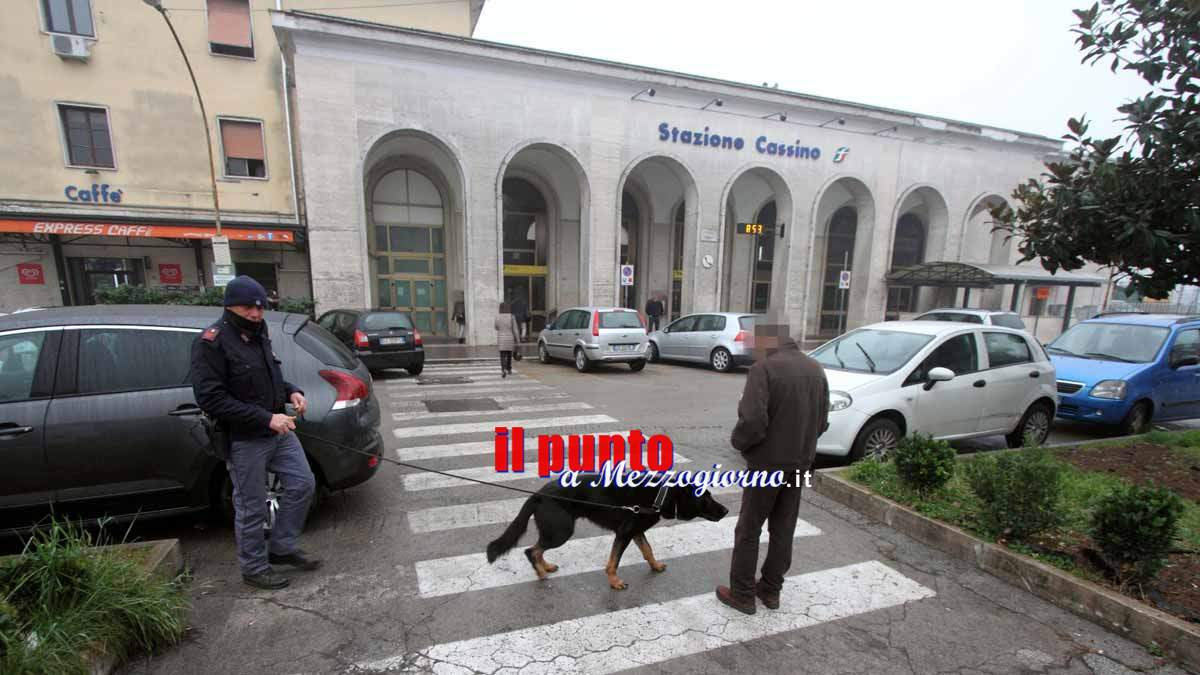 Droga a Cassino, polizia a caccia di consumatori. Professionista segnalato alla Prefettura
