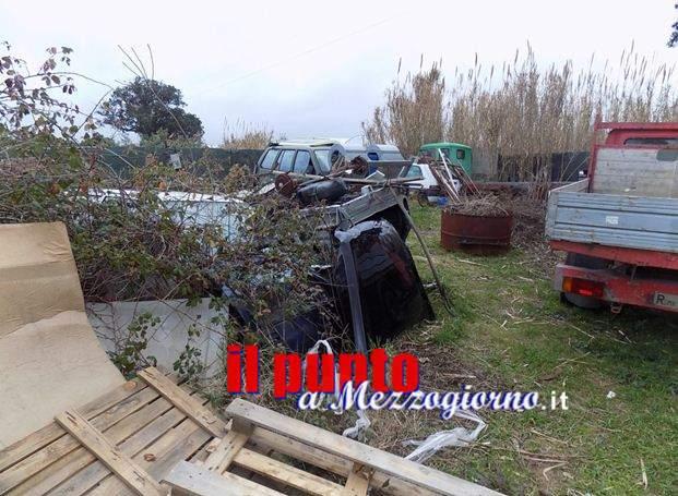 Sequestrata discarica abusiva a San Felice Circeo
