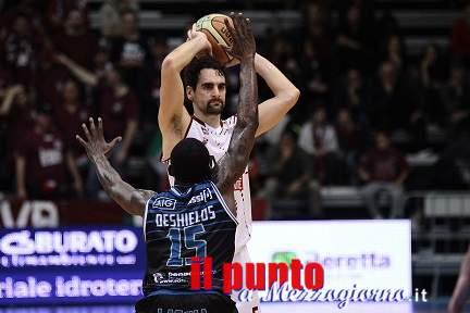 Basket A2: Ferentino cade al Pala Bianchini di Latina