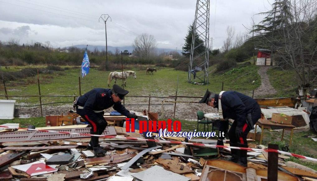 Trasforma in discarica un'area di 4mila metri all'insaputa dei proprietari, denunciato 69enne