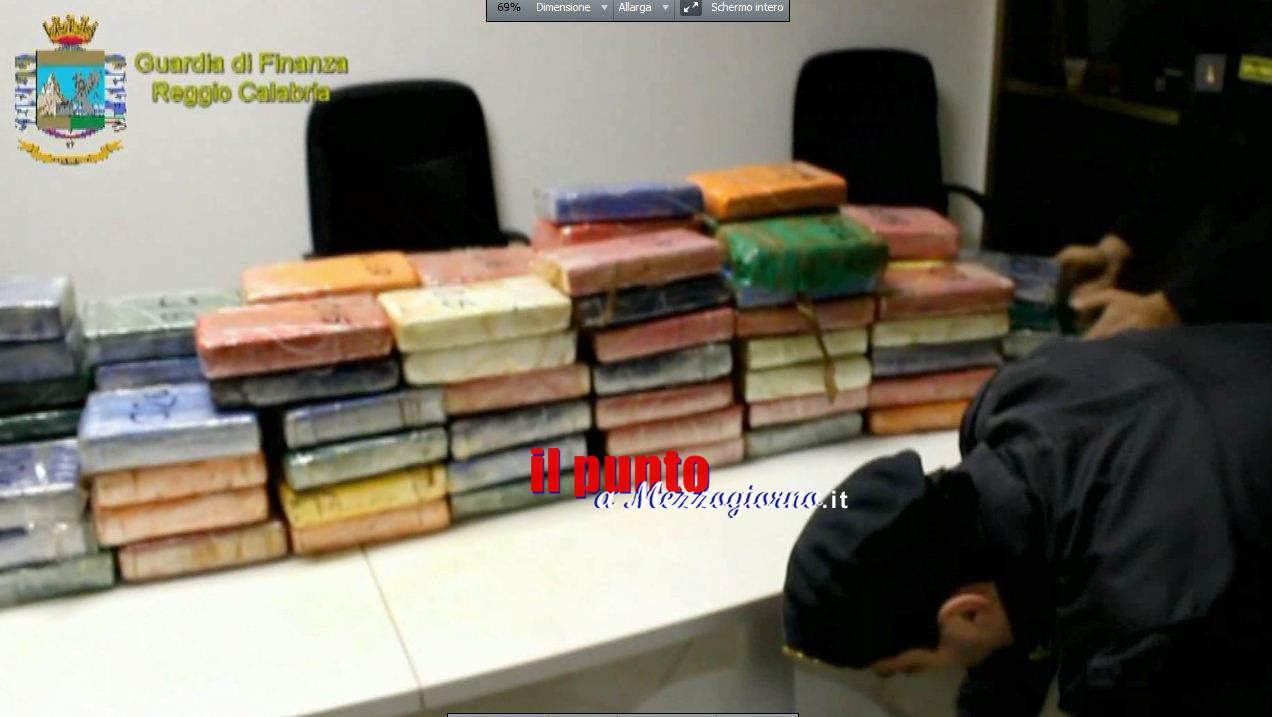 Italia crocevia della droga, sequestrati 4 quintali di cocaina diretti in Ucraina