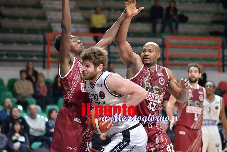 Basket A2: Ferentino lotta per 40 minuti, ma esce sconfitto (78-69) a Casale Monferrato