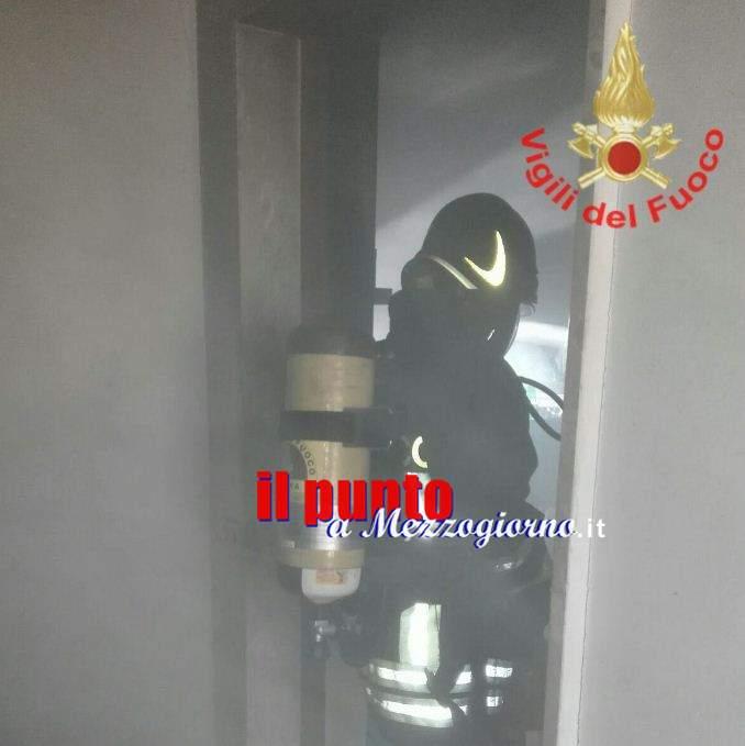 Esplosione in appartamento in pieno centro ad Itri