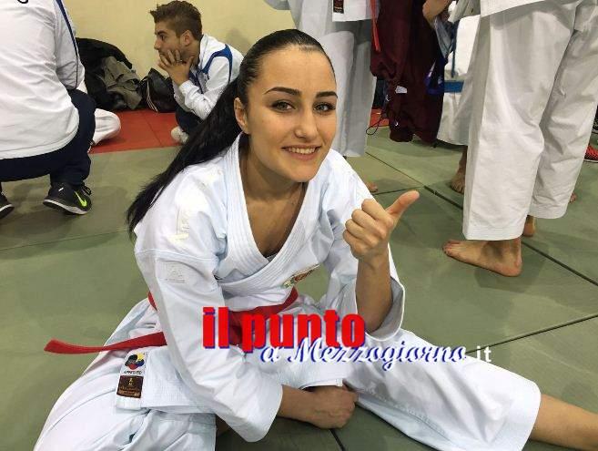 Campionessa Regionale di karate, a 17 anni Noemi Nicosanti agli Europei di  Sofia
