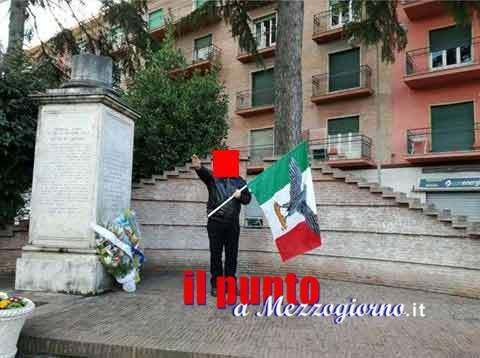 Cassino – Saluto romano dopo la commemorazione del giorno del ricordo, 48enne denunciato per apologia al fascismo