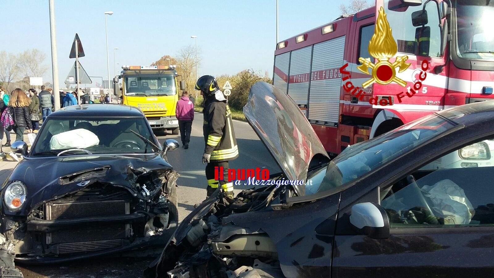 Incidente ad Ardea, ferite mamma e figlia