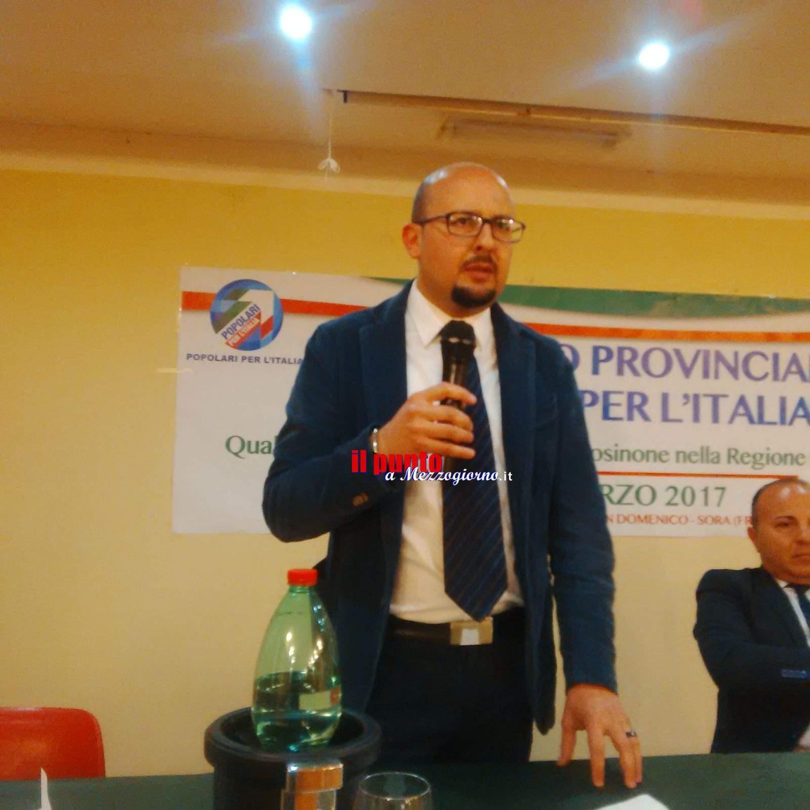 Niki Dragonetti eletto coordinatore provinciale del partito Popolari per l'Italia