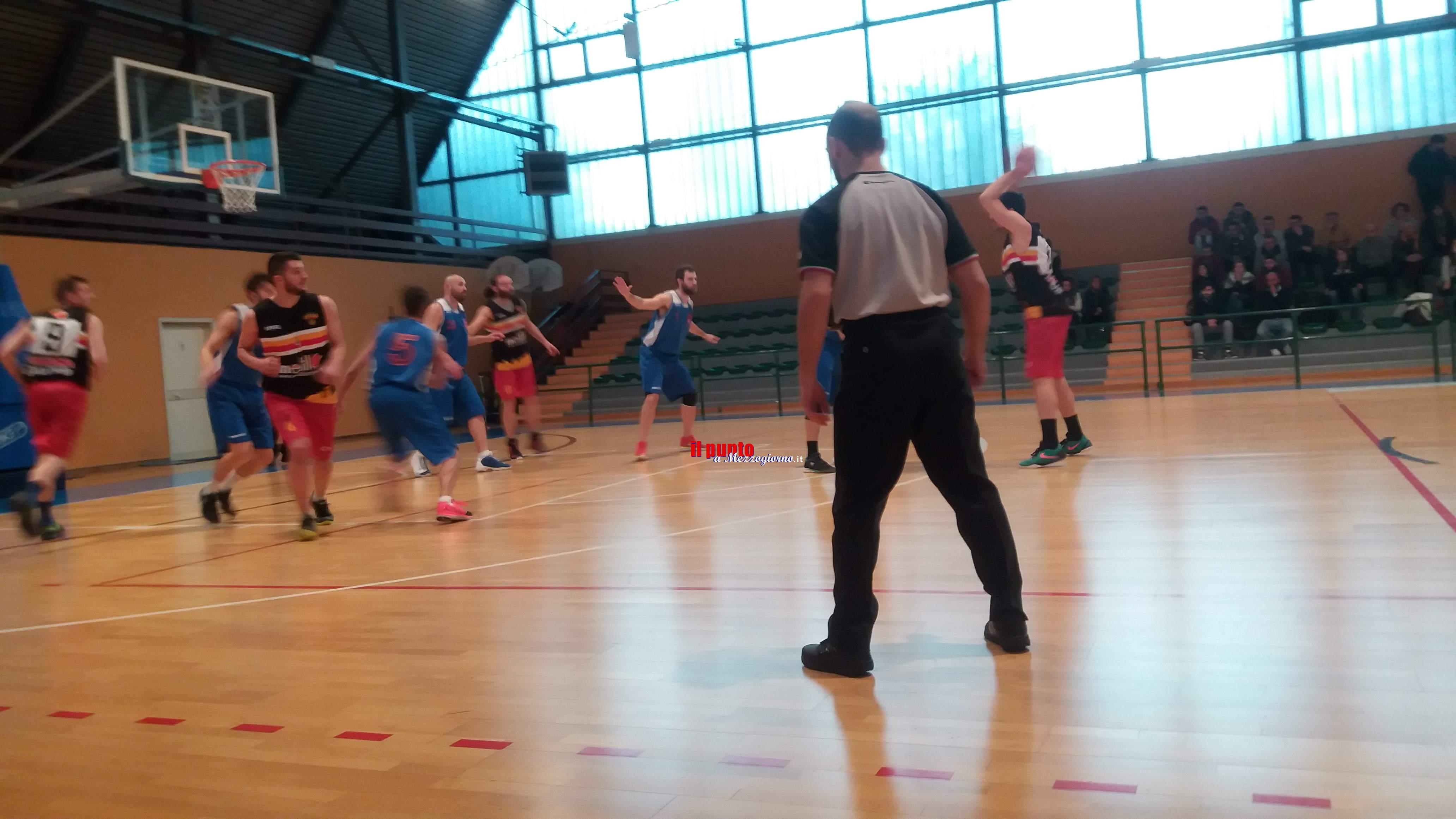 Basket serie D 2a fase: Albano espugna con autorità il palazzetto della Pallacanestro Veroli