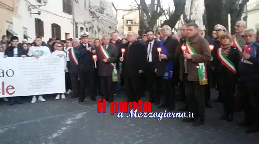 """Omicidio di Alatri, il sindaco Morini: """"Questa città non è lo scannatoio d'Italia"""""""