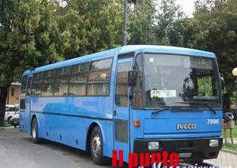 Frosinone, autobus Cotral multato per smog.