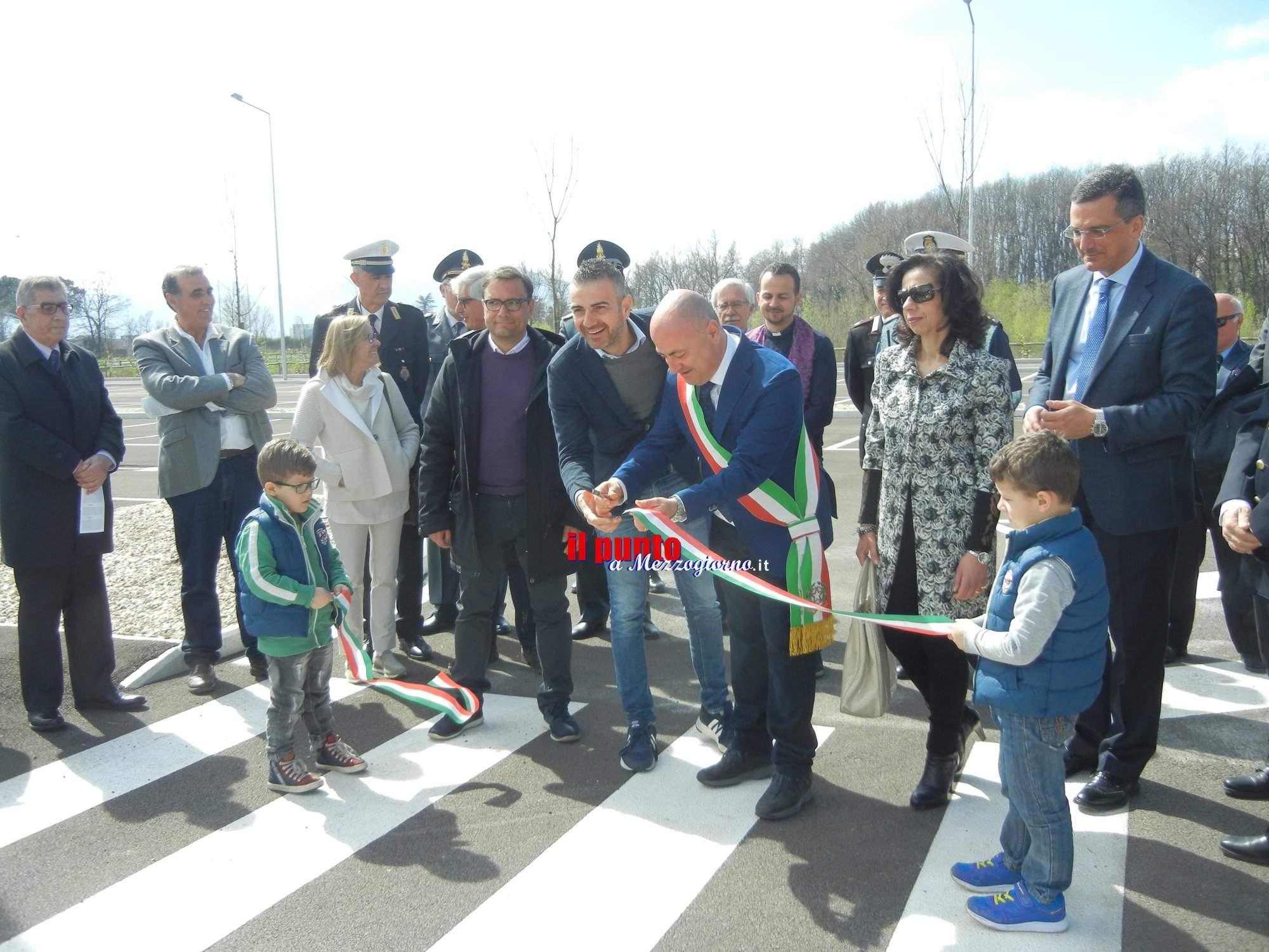 Frosinone, inaugurato il parcheggio per stadio e ospedale