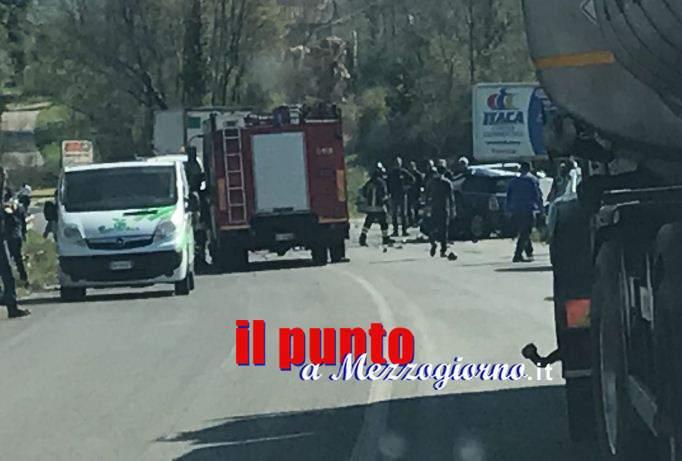 Incidente stradale mortale sulla Superstrada Cassino Formia