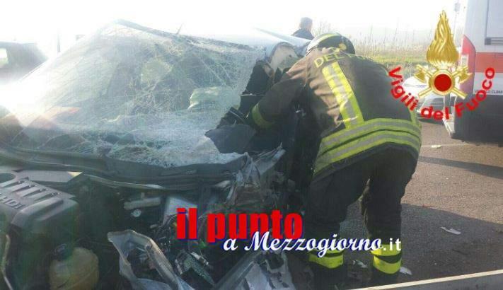 Due incidenti stradali nel Pontino, tre feriti