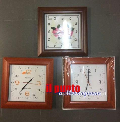 Truffatori dell'orologio, due coppie fermate a Frosinone