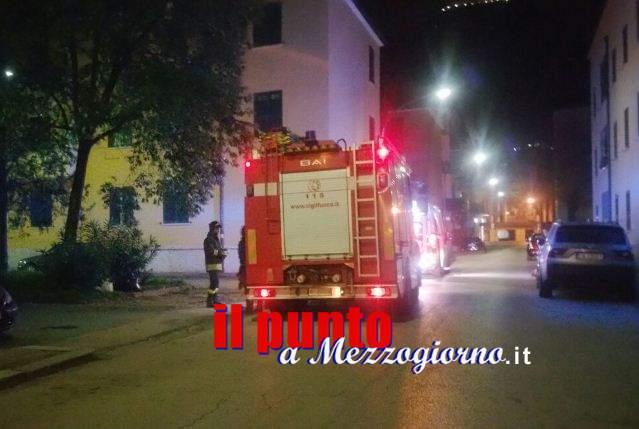 Fuga di gas a Cassino in piena notte, uomo salvato dai vigili del fuoco