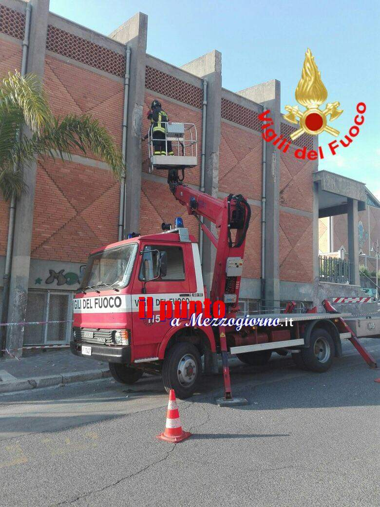 Parete della chiesa di San Paolo a Gaeta a rischio crollo