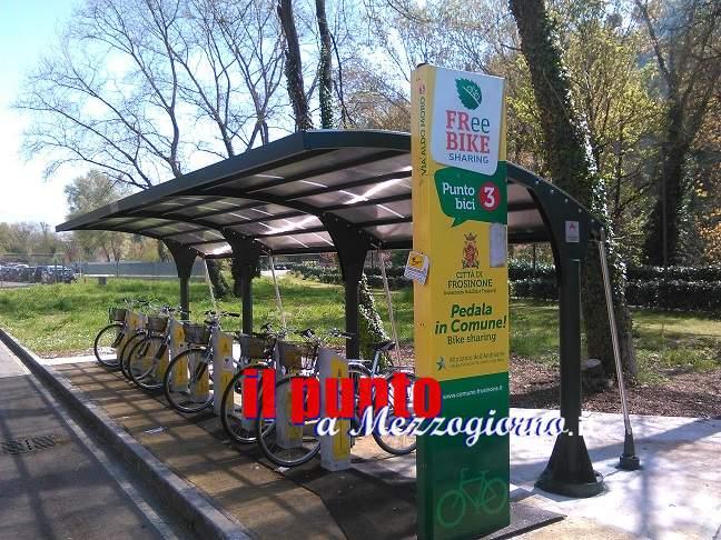 Frosinone, bike sharing gratuito per gli studenti