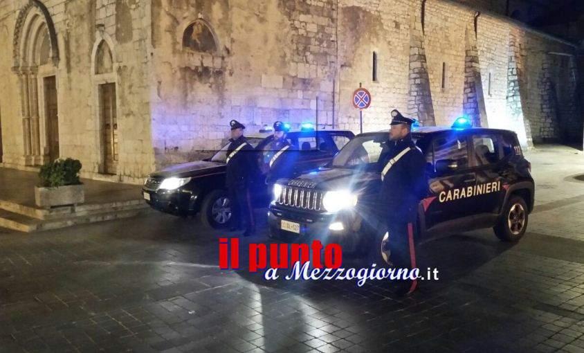 In viaggio con mezzo chilo di hashish, tre giovani fermati a Ceprano