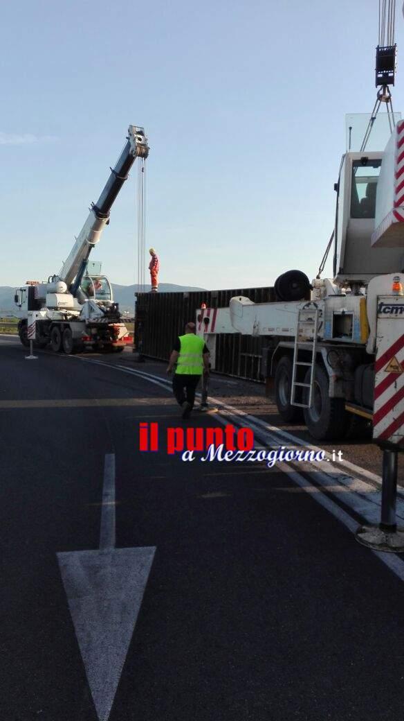 Incidente sull'A1 al casello di Cassino, disagi per la viabilità