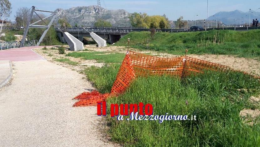 La dura vita del ciclista a Cassino