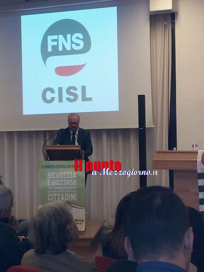Terzo congresso della Fns Cisl Lazio. Vespia confermato segretario generale