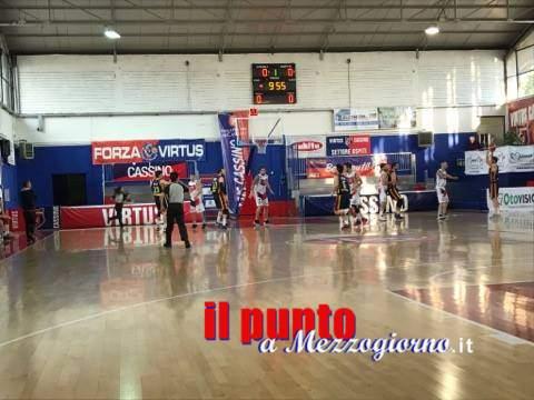 Basket serie B: Al PalaVirtus non si passa, la Virtus supera (82-72) anche Catanzaro