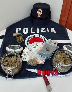 Cassino: un altro arresto della Polizia, in manette un giovane campano per spaccio
