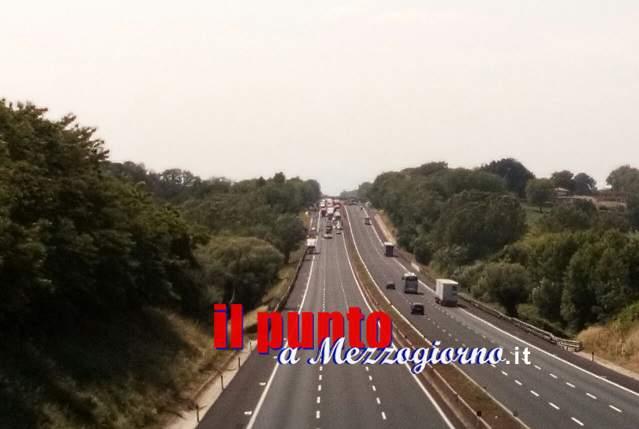 Incidente mortale in A1 nel tratto compreso nel comune di Cassino, muore un 52enne