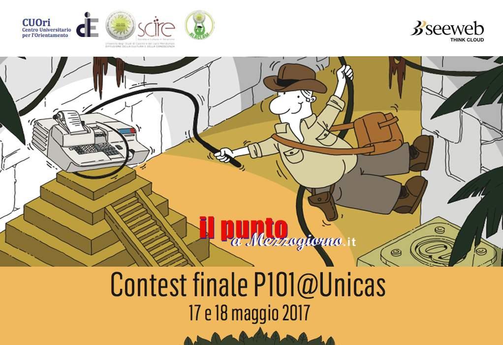 Il progetto P101@Unicas dell'Università di Cassino giunge a conclusione con il contest finale e l'incontro con Garziera e De Sandre